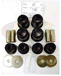 Control Arm Bushing Set, 95.5-04 Tacoma 4wd and Prerunner, Black