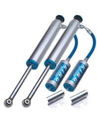 KING REMOTE RESERVOIR REAR SHOCK PAIR FOR 2003-2009 TOYOTA 4RUNNER AND 2007-2014 TOYOTA FJ CRUISER (25001-125/125A-EXT)