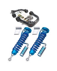 KING COILOVER / CAMBURG UNIBALL CONTROL ARM PACKAGE FOR 2003-2009 TOYOTA 4RUNNER AND 2007-2009 TOYOTA FJ CRUISER