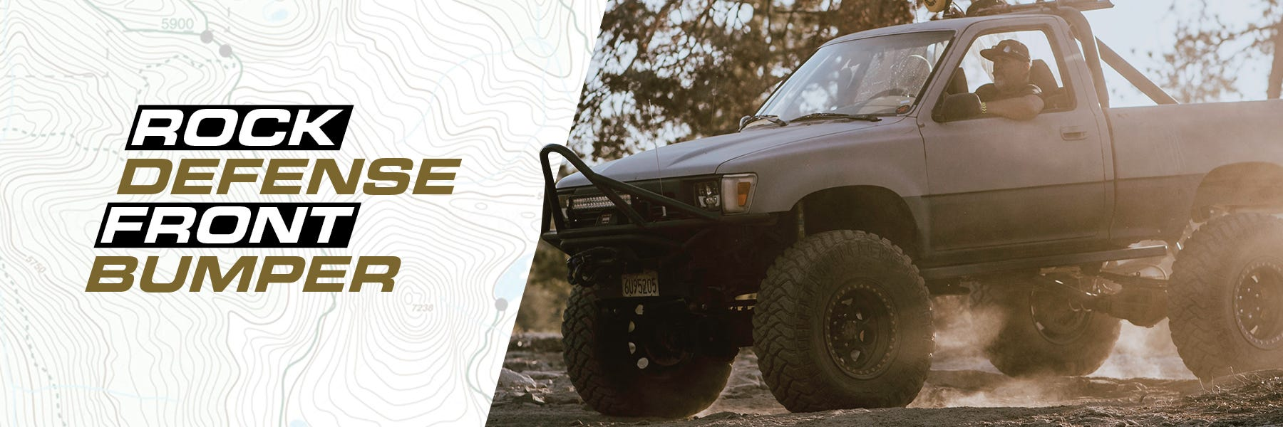 Trail-Gear Rock Defense Front Bumper